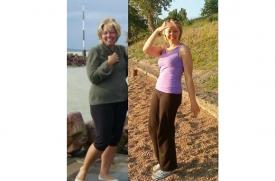 """""""Zsíroskenyér diéta"""" – Nyilas Adrienn sikeres fogyása és fejlődése"""
