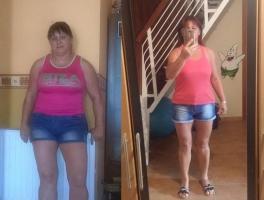 Bosszantotta a súlya - Kosuthné Évi 21 kilótól szabadult meg