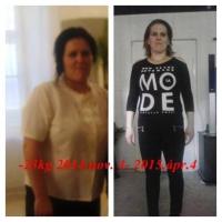 23 kilós fogyás hat hónap alatt